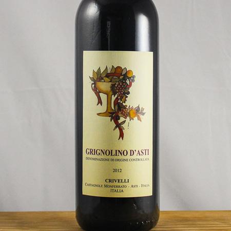 Crivelli Grignolino d'Asti  2012