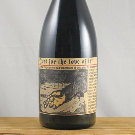 Sine Qua Non Just For the Love of It Syrah 2002
