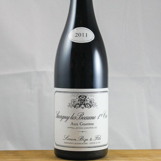 """Aux Guettes"" Savigny-lès-Beaune 1er Cru Pinot Noir 2012"