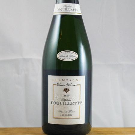 Stéphane Coquillette Cuvée Diane Blanc de Blancs Brut Champagne Chardonnay NV