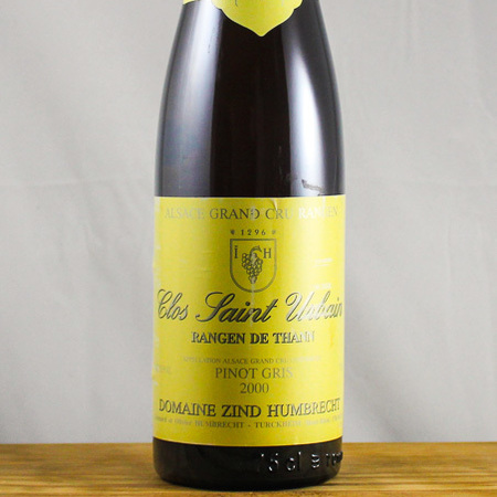 Domaine Zind Humbrecht Clos St. Urbain Rangen de Thann Pinot Gris  2000