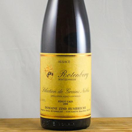 Domaine Zind Humbrecht Rotenberg Sélection de Grains Nobles Pinot Gris 2000