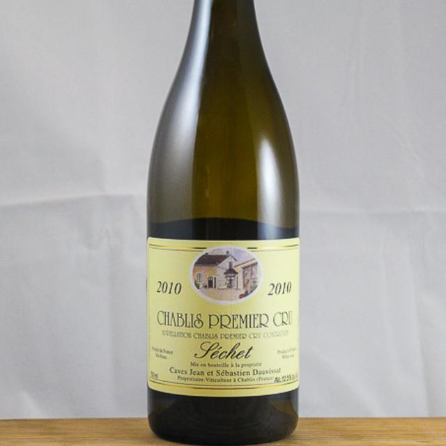 Séchet Chablis 1er Cru Chardonnay 2010