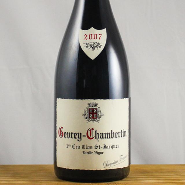 Clos St. Jacques Vieilles Vignes Gevrey-Chambertin 1er Cru Pinot Noir 2007