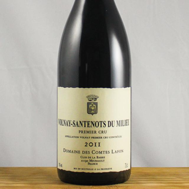 Volnay Santenots-du-Milieu 1er Cru Pinot Noir 2011