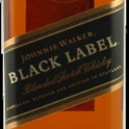 Johnnie Walker 12 Years Old Black Label Blended Scotch Whiskey NV