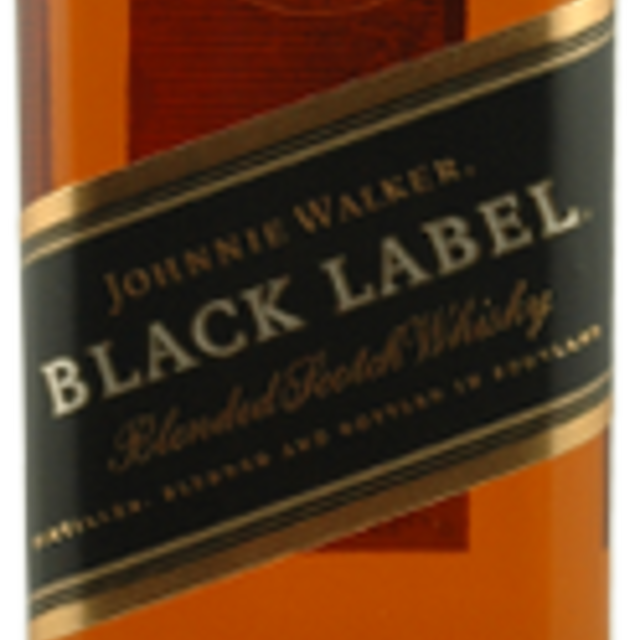 12 Years Old Black Label Blended Scotch Whiskey NV