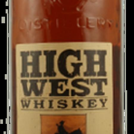 High West Distillery Rendezvous Rye Straight Rye Whiskey NV