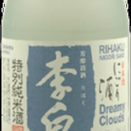Rihaku Sake Brewery Dreamy Clouds Nigori Sake  NV