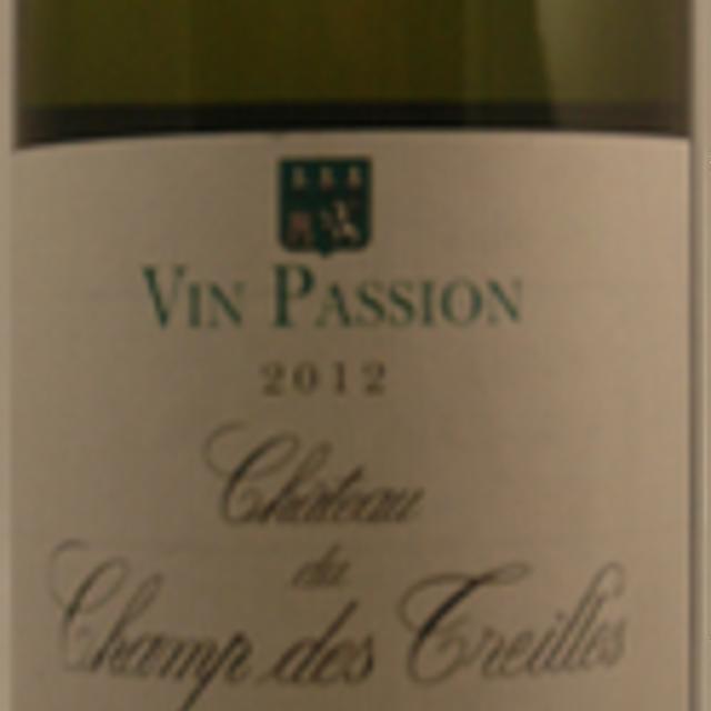 Vin Passion Sémillon-Sauvignon Blanc Blend 2012