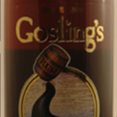 Gosling's Black Seal Bermuda Black Rum Molasses NV