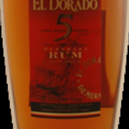 El Dorado Cask Aged 5 Years Demerara Rum NV