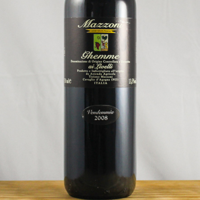 Ghemme Nebbiolo 2010