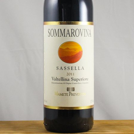 Mamete Prevostini Sommarovina Valtellina Superiore Sassella Nebbiolo 2013