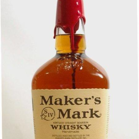 Maker's Mark Kentucky Straight Bourbon Whisky NV (1000ml)