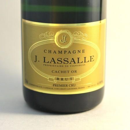 J. Lassalle Cachet Or Brut 1er Cru Champagne Blend NV