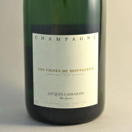 Jacques Lassaigne Les Vignes de Montgueux Extra Brut Blanc de Blancs Champagne Chardonnay NV