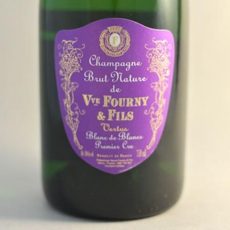 Veuve Fourny & Fils Blanc de Blancs Brut Nature 1er Cru Champagne  NV