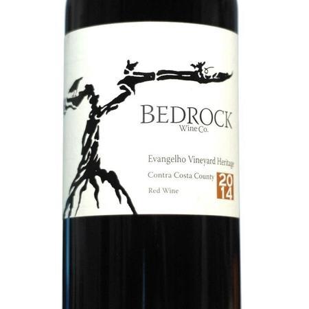 Bedrock Wine Co. Evangelho Vineyard Heritage Zinfandel Blend 2014