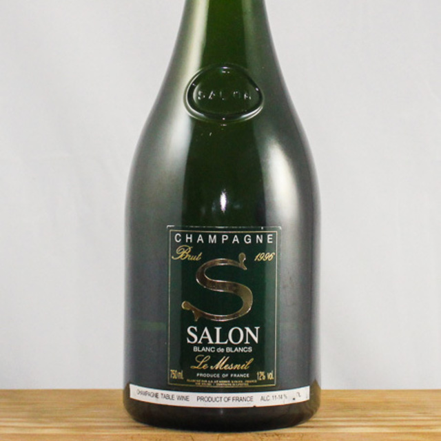 'S' Le Mesnil Brut Blanc de Blancs Champagne Chardonnay 1996