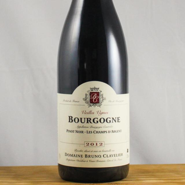 Vieilles Vignes Champs D'Argent Bourgogne Pinot Noir 2012