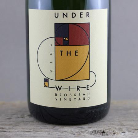 Under the Wire Brosseau Vineyard Sparkling Wine 2012