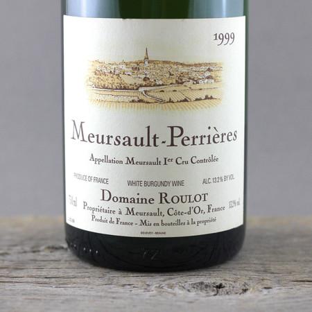Domaine Roulot Perrières Meursault 1er Cru Chardonnay 1999