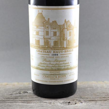 Château Haut-Brion Pessac-Léognan Red Bordeaux Blend 1998