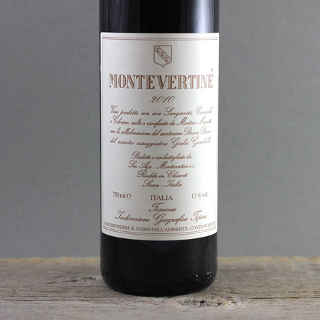 Montevertine Toscana Super Tuscan Blend 2010