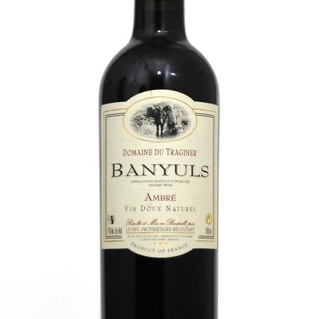 Domaine du Traginer Ambré Vin Doux Naturel Banyuls Grenache Gris Blend NV (500ml)