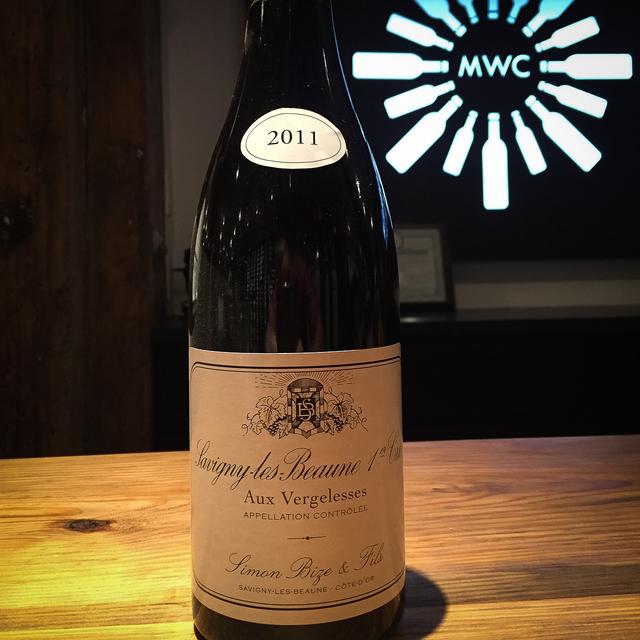 Aux Vergelesses Savigny-lès-Beaune 1er Cru Pinot Noir 2011