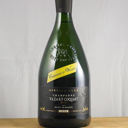 Vazart-Coquart Special Club Brut Blancs de Blancs Grand Cru Champagne Chardonnay 2008