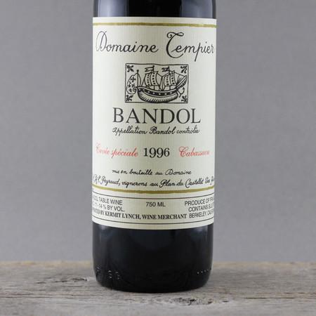Domaine Tempier Cabassaou Bandol Mourvèdre Blend 1996