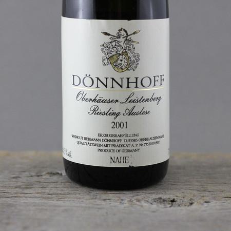 Dönnhoff Oberhäuser Leistenberg Auslese Riesling 2001 (375ml)