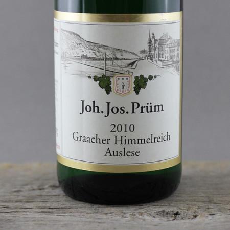 Joh. Jos. Prüm Graacher Himmelreich Auslese Riesling 2010