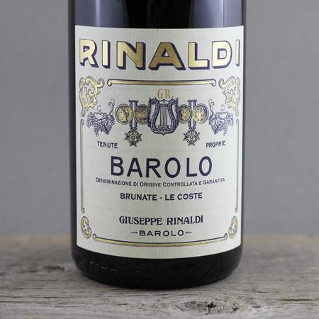Giuseppe Rinaldi Brunate Le Coste Barolo Nebbiolo 2003
