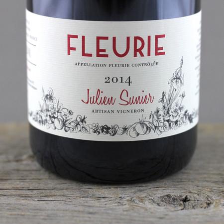 Julien Sunier Fleurie Gamay 2014