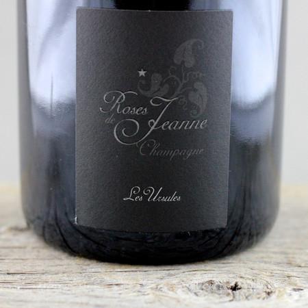 Cédric Bouchard Roses de Jeanne Les Ursules Blanc de Noirs Champagne  2010