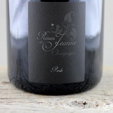 Cédric Bouchard Roses de Jeanne Presle Blanc de Noirs Champagne 2010