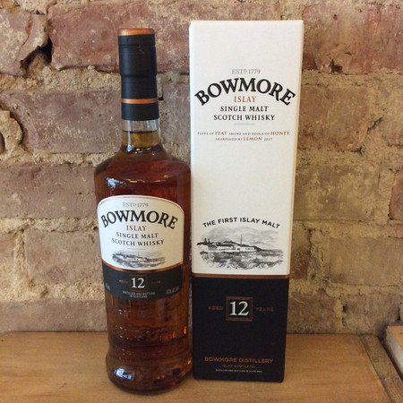 Bowmore Distillery Aged 12 Years Islay Single Malt Scotch Whisky NV