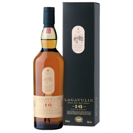 Lagavulin Distillery Aged 16 Years Islay Single Malt Scotch Whisky NV