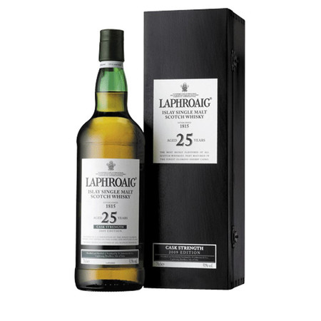Laphroaig 25 Year Cask Strength Islay Single Malt Scotch Whisky NV