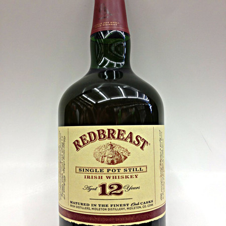 Midleton Redbreast Aged 12 Years Single Pot Still Irish Whiskey NV