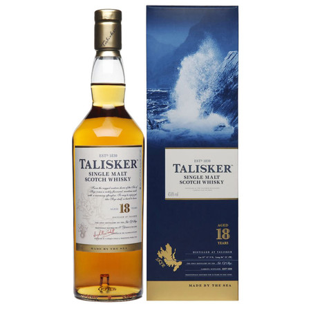 Talisker Aged 10 Years Single Malt Scotch Whisky NV