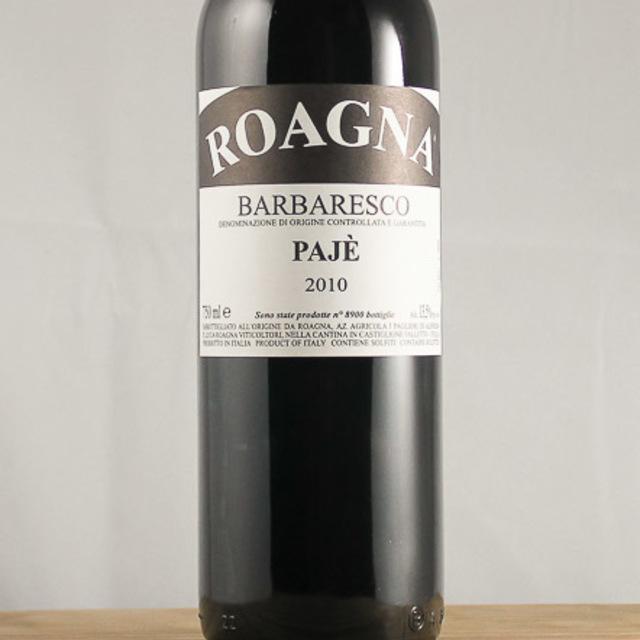 Pajè Barbaresco Nebbiolo 2010 (375ml)