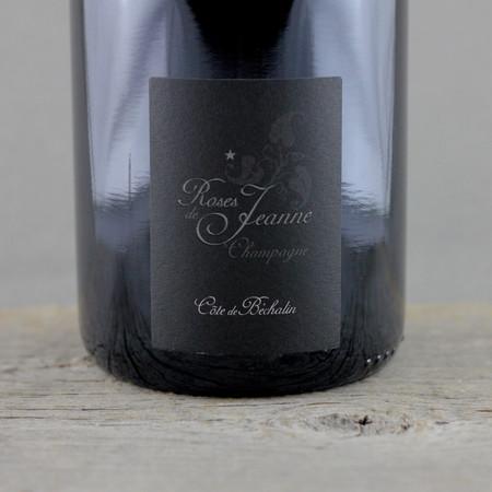 Cédric Bouchard Roses de Jeanne Côte de Béchalin Brut Blanc de Noirs Champagne  Pinot Noir 2008