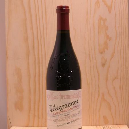 Domaine du Vieux Télégraphe Télégramme Châteauneuf-du-Pape Red Rhone Blend 2011