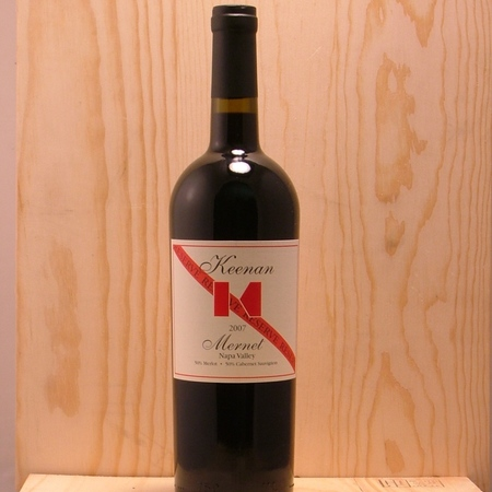 Robert Keenan Winery Mernet Reserve Spring Mountain District Red Blend  NV