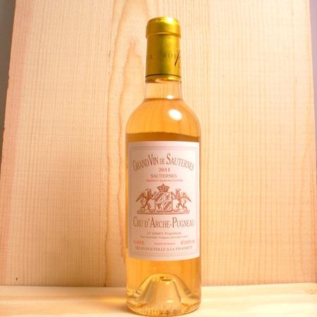 Château Cru d'Arche-Pugneau Sauternes Sémillon-Sauvignon Blanc Blend 2011 (375ml)