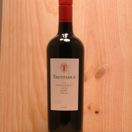 Trentadue Winery Old Patch Red Lot 34 Red Blend NV